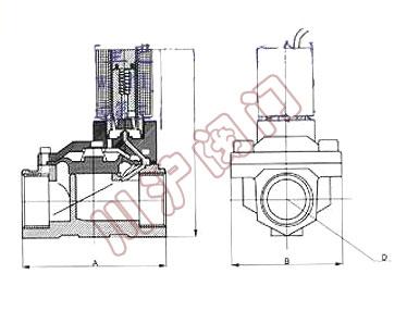 SLPM磁保持脉冲电磁阀 上海川沪阀门生产图片