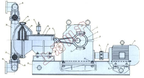 dby电动隔膜泵 结构简图
