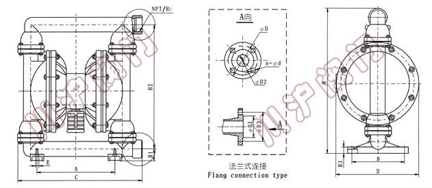 高品质qby气动隔膜泵|铸铁隔膜泵|不锈钢隔膜泵-上海