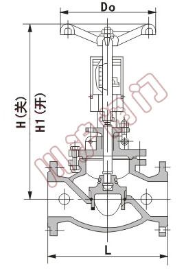 kpf型平衡阀结构图