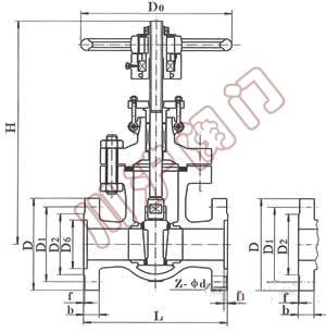 液压阀门的结构图